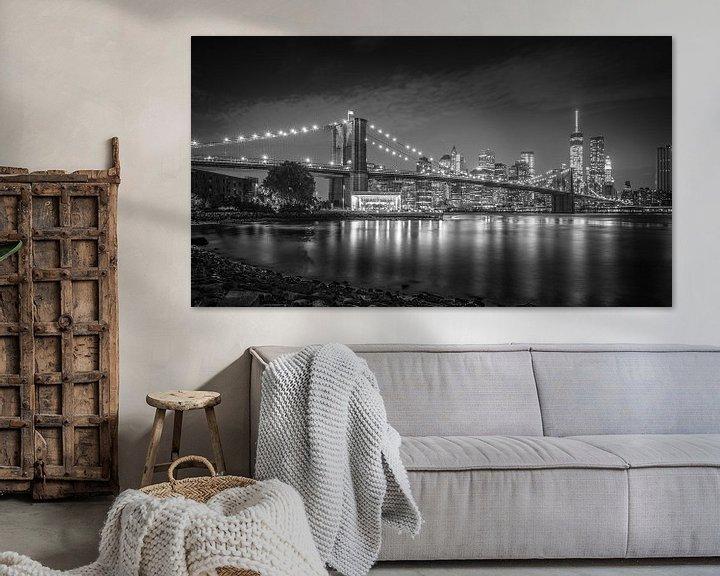 Sfeerimpressie: New York City Lights II van Dennis Wierenga