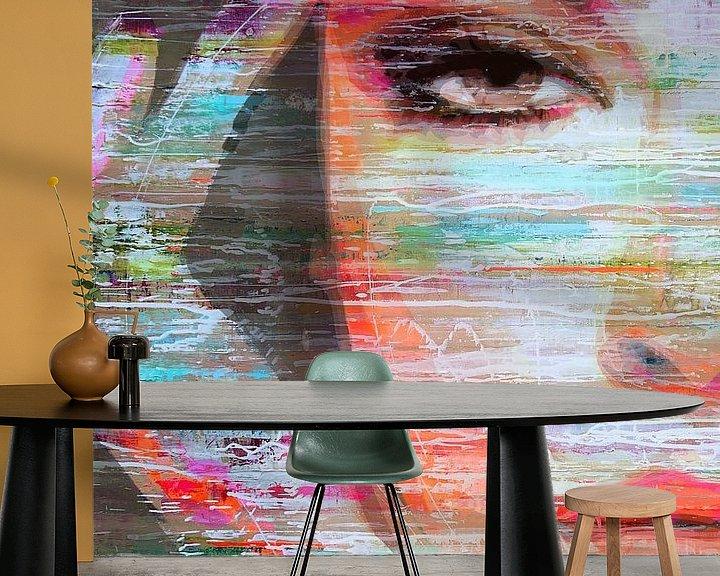 Sfeerimpressie behang: Focus van Atelier Paint-Ing