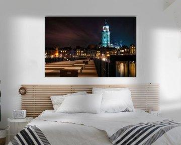 Deventer at Night van Martin Podt