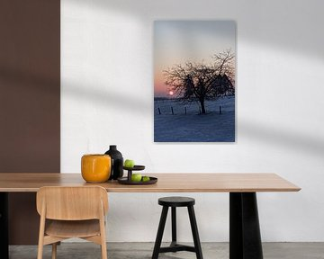 Winterlandschaft in Malmedy von Christophe Fruyt