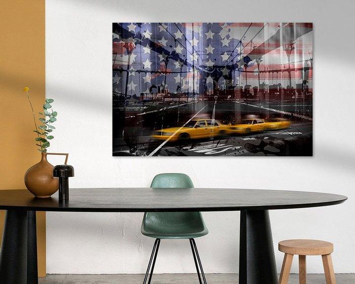 Sfeerimpressie: City-Art NYC Composing van Melanie Viola