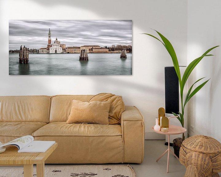Sfeerimpressie: Venetie - San Giorgio Maggiore III van Teun Ruijters