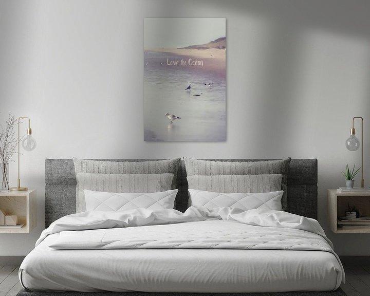 Sfeerimpressie: LOVE the OCEAN III  van Pia Schneider