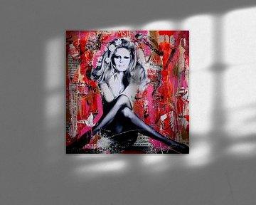 Brigitte St. Tropez von Michiel Folkers