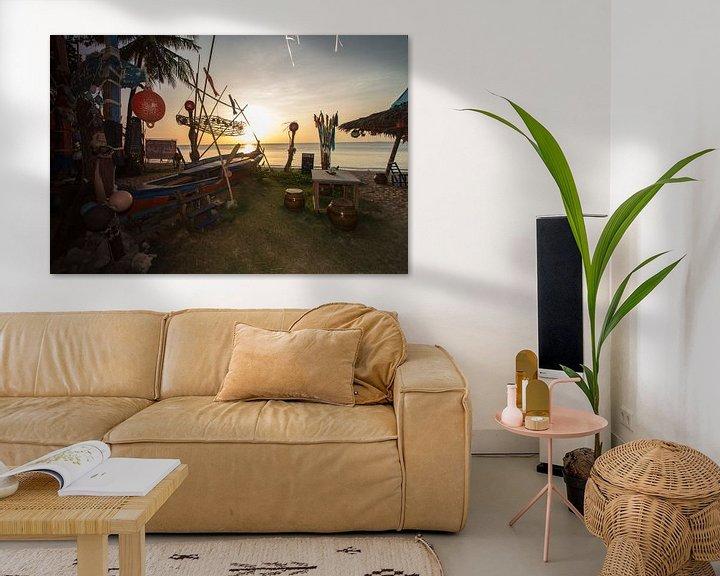 Beispiel: Sonnenuntergang auf Koh Lanta von Levent Weber