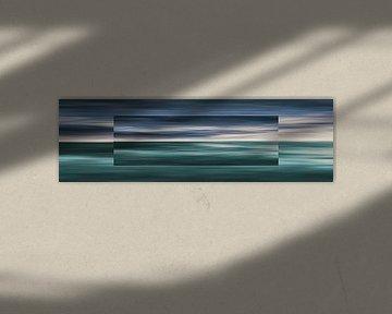 Oceaan Droste Effect van Jan Brons