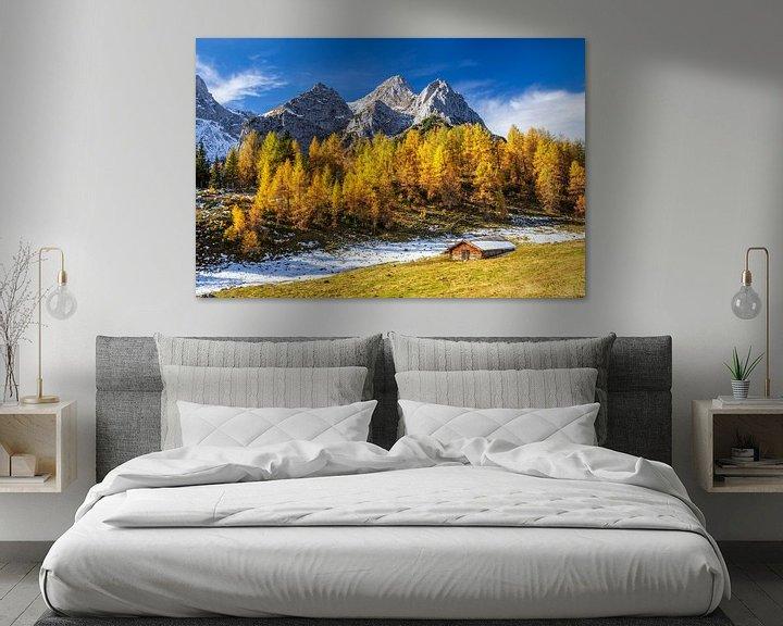 Sfeerimpressie: Hutje in de Alpen van Coen Weesjes