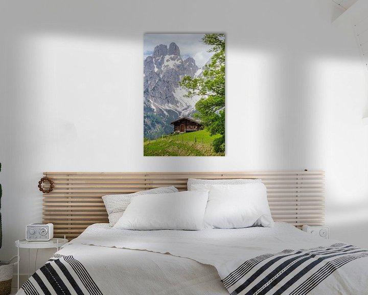 Sfeerimpressie: Almhut in de Bergen van Coen Weesjes