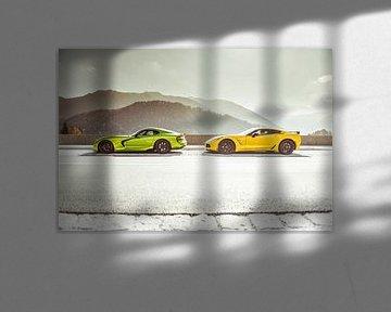 Chevrolet Corvette vs. Dodge Viper