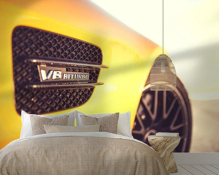Sfeerimpressie behang: V8 van Sytse Dijkstra