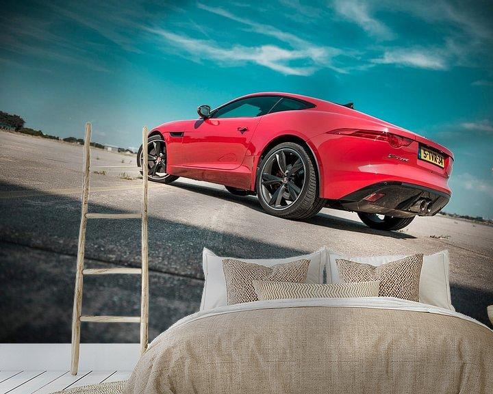 Beispiel fototapete: Jaguar von Sytse Dijkstra