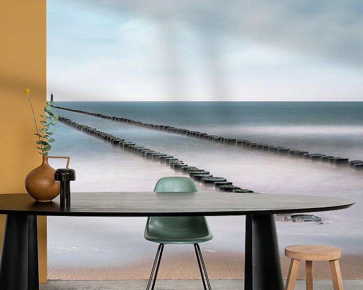 Sfeerimpressie behang: Serenity van Cho Tang