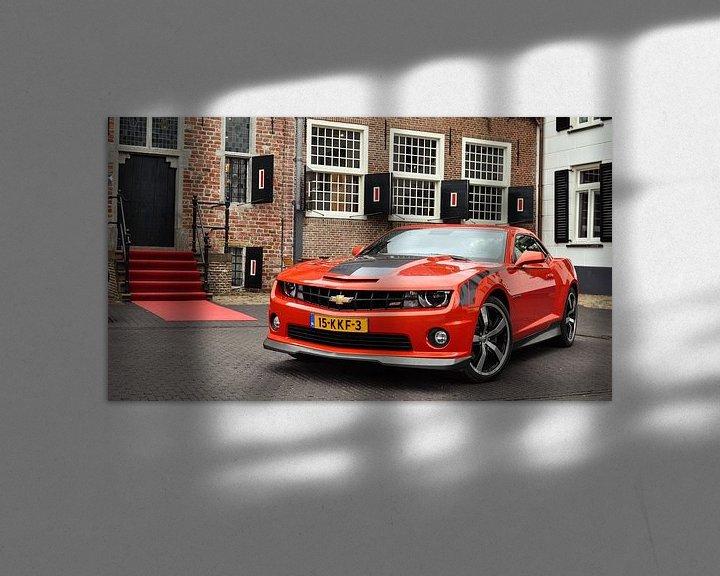 Sfeerimpressie: Chevrolet Camaro SS GMPP van Gert Tijink