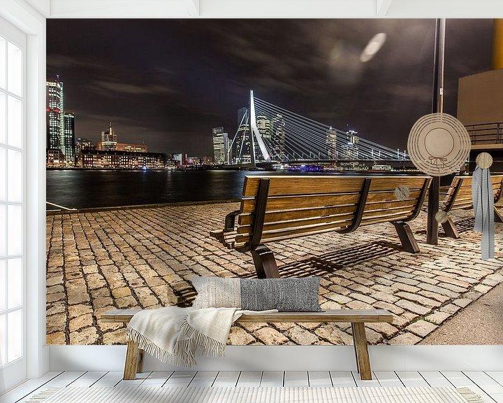 Sfeerimpressie behang: Take a seat and enjoy the view van Michel Kempers