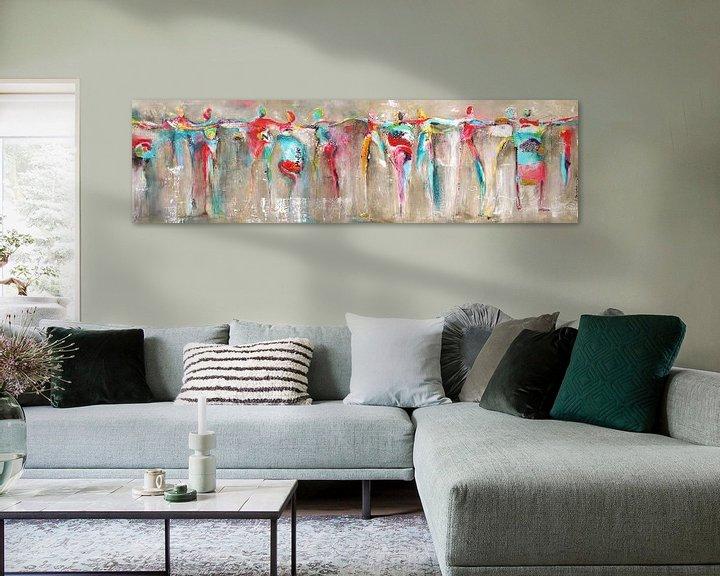Beispiel: Connected dance people von Atelier Paint-Ing