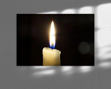 Kaars / Candlelight van Maurits Bredius