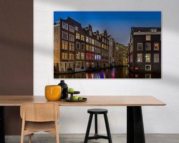 Oudezijds Voorburgwal Amsterdam van Martin Bredewold