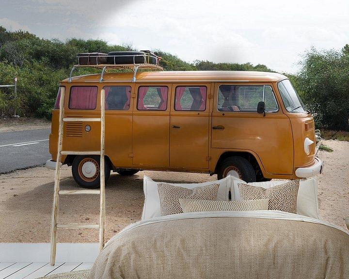 Beispiel fototapete: old vw bus von Compuinfoto .