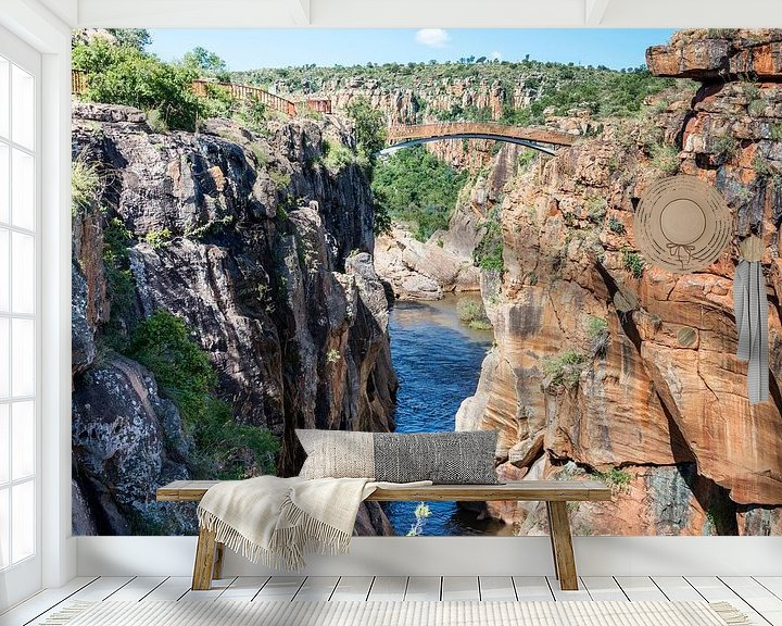 Impression: river at the bourkes potholes in south africa sur ChrisWillemsen