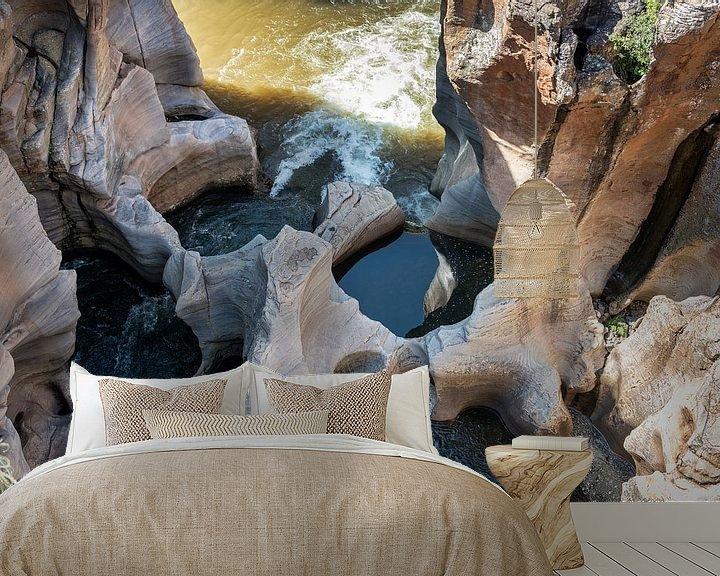 Sfeerimpressie behang: blyde river with the bourkes pothles van Compuinfoto .