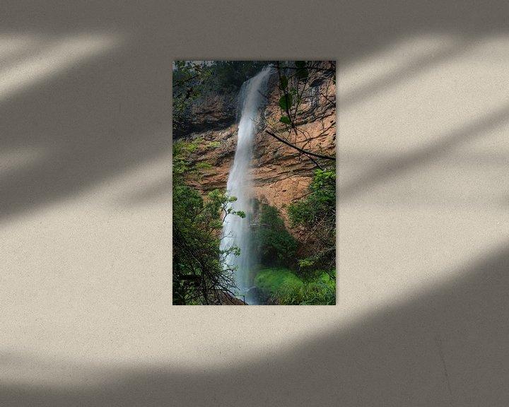 Sfeerimpressie: bridel veil fall waterfall near sabie in south africa van Compuinfoto .