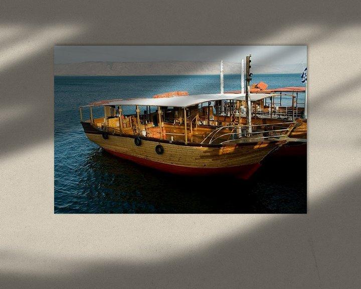 Impression: boat on the lake of Tiberias sur ChrisWillemsen