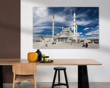 Kocatepe Moschee - Ankara, Türkei von Bart van Eijden