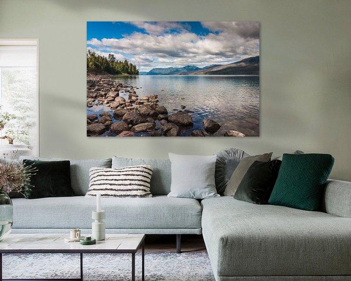 Sfeerimpressie: Lake Mc Donald Glacier NP van Ilya Korzelius