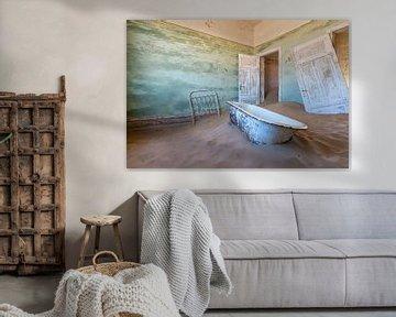 the most famous bathtub of Namibia van Aline van Weert