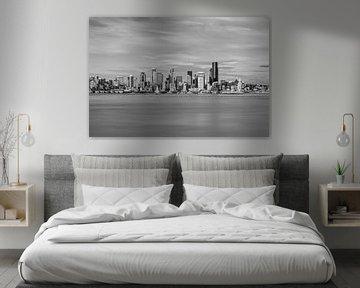 Skyline van Seattle van Ilya Korzelius