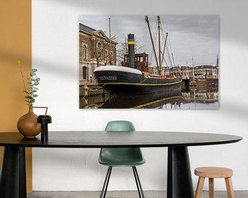 Historische stoomschip Leeuwarden von Hilda Weges
