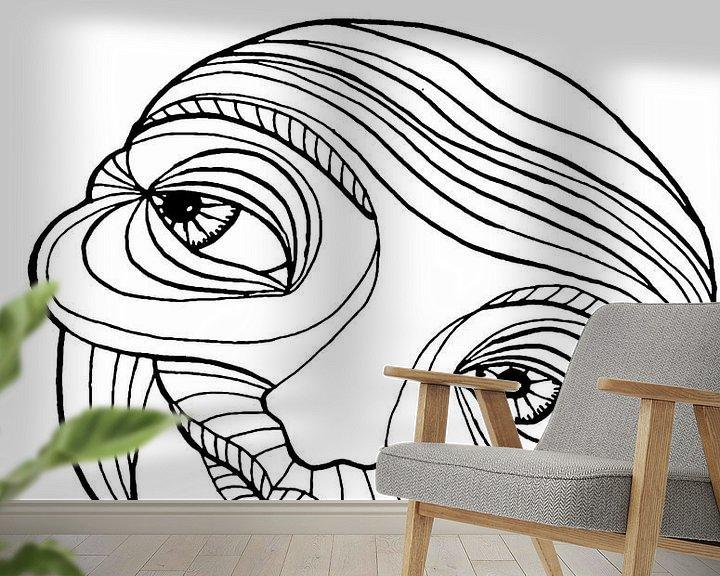 Sfeerimpressie behang: Gelukkig oud worden van Creative Life by Jessica