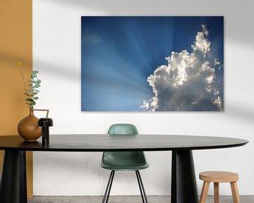 Achter de wolken schijnt de zon van Ties van Veelen