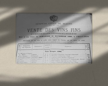 Vente des vins fins von Peter van Rooij