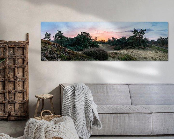 Sfeerimpressie: Boshuizerbergen Sunrise van William Mevissen