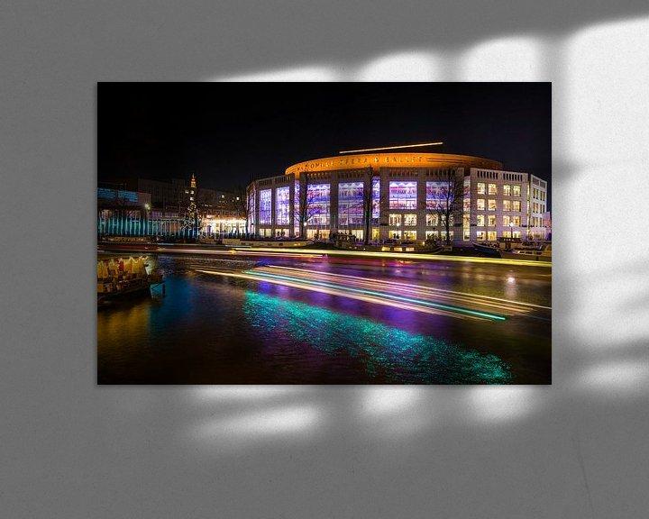 Sfeerimpressie: Stopera Amsterdam by night van Ilya Korzelius