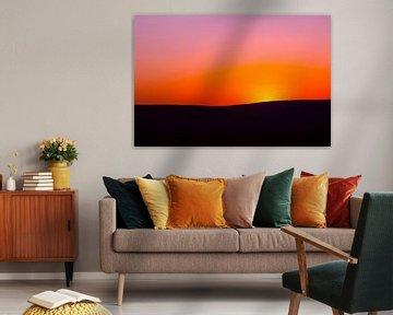 Afrikaanse zonsondergang avondrood  von Dexter Reijsmeijer
