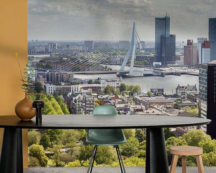 Impression: De Erasmusbrug Rotterdam sur Menno Schaefer