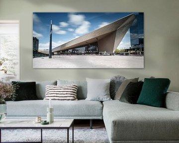 Het centraal station van Rotterdam