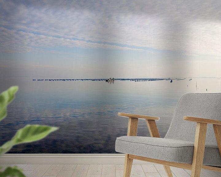 Beispiel fototapete: Spiegelend water bij de Brouwersdam von Rene  den Engelsman