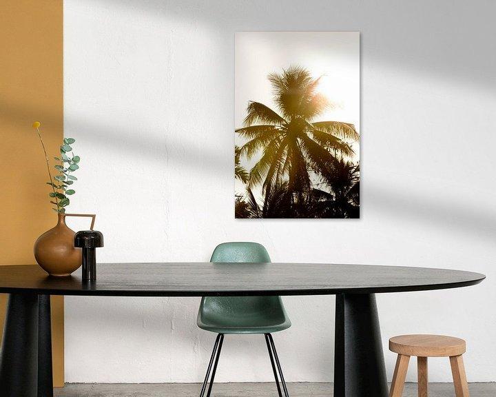 Sfeerimpressie: Palmboom in Vietnam van Gijs de Kruijf