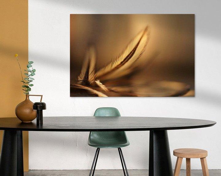 Sfeerimpressie: Champagne (feathers) van Carla Mesken-Dijkhoff