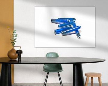 blauwe inkt van Norbert Sülzner