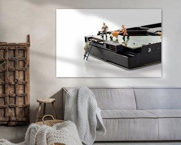 harddisk repare von Compuinfoto .