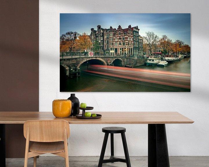 Sfeerimpressie: Café het Papeneiland van Henri van Avezaath