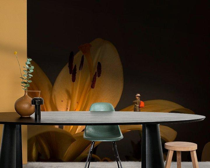 Sfeerimpressie behang: flower exposition van Compuinfoto .
