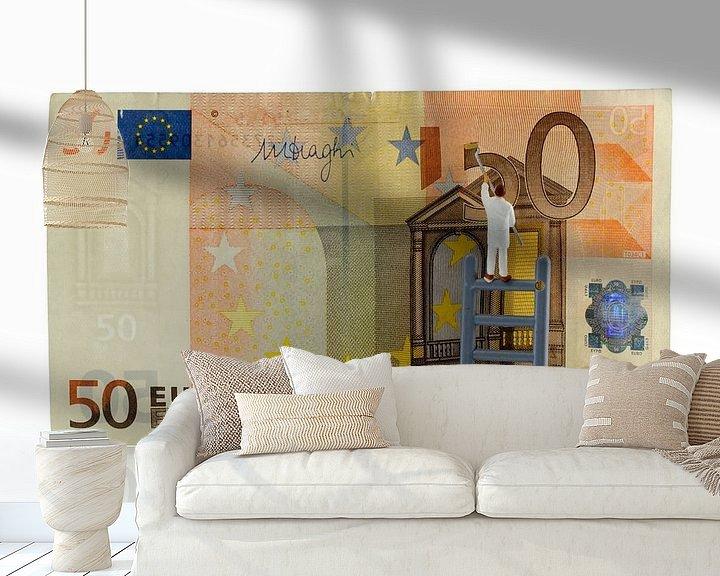 Sfeerimpressie behang: money maker van Compuinfoto .