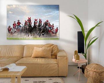 Paarden menwedstrijd sur PAM fotostudio
