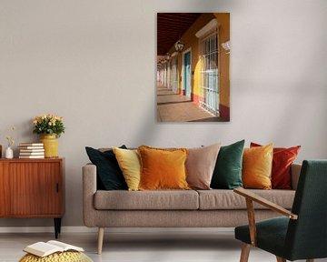 Tropische kleuren van Margot van den Berg
