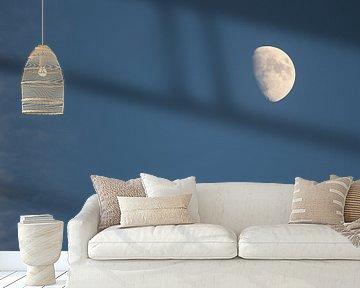 Mond am Nachmittag van Riegler klaus